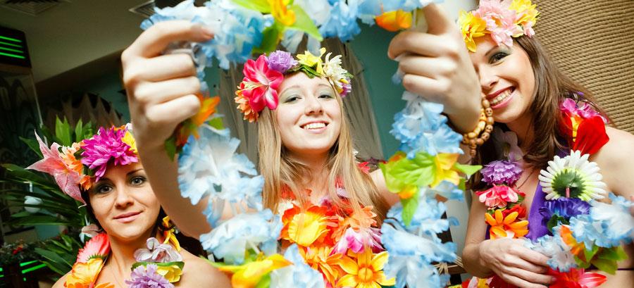 Гавайська вечірка